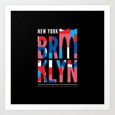 Brooklyn Bridge Remix // www.pencilmeinstationery.com Art Print