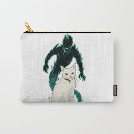Mogget (green) Carry-All Pouch