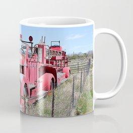 Abandoned Fire Truck Coffee Mug