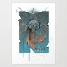 INSPECTRE GENERAL 2013 Art Print