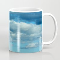german Mugs featuring German clouds by LoRo  Art & Pictures