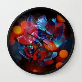 Fluorescent Dreams Wall Clock