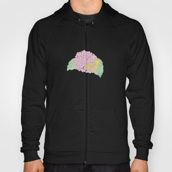 Hydrangeas and Butterflies - Such A Perfect Summer Day Hoody