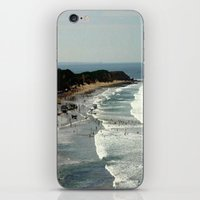rowing iPhone & iPod Skins featuring Torquay Heads - Rowing Regatta - Australia by Chris' Landscape Images & Designs