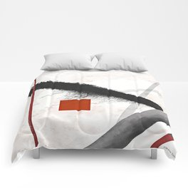 Snowy day Comforters