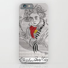 Beethoven in musica iPhone 6s Slim Case