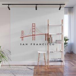 Golden Gate Bridge 2, San Francisco, California Wall Mural