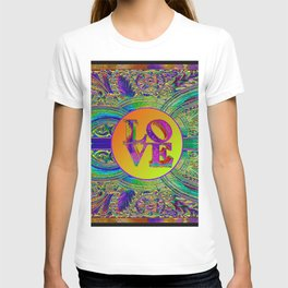 LOVE IN THE TIME OF ART DECO T-shirt
