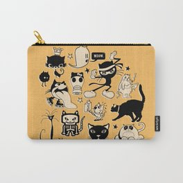 Cat Menagerie Carry-All Pouch