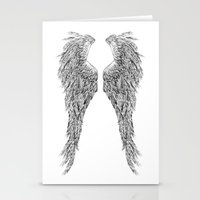 angel wings Stationery Cards featuring Angel wings by Annie0710