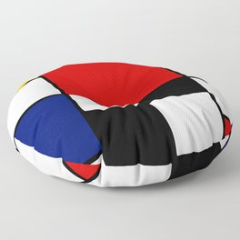 Piet Mondrian Floor Pillow