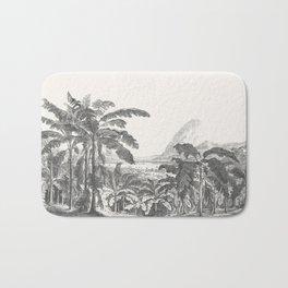 Palms and Mountain Bath Mat
