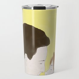 Cory & Topanga (Boy Meets World) - Watercolor Travel Mug