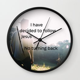 Decided to follow Wall Clock