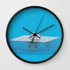 drowned (voxel) Wall Clock