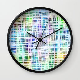 Colorful striped DP034-2 Wall Clock