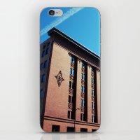 minneapolis iPhone & iPod Skins featuring Minneapolis Architecture by Allison Morse