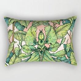 Leaf Mimic Rectangular Pillow