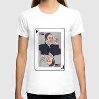 house of cards T-shirts featuring Francis Underwood - House of Cards by KODYMASON