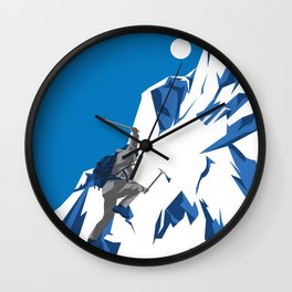 Extreme Rockclimbing Wall Clock