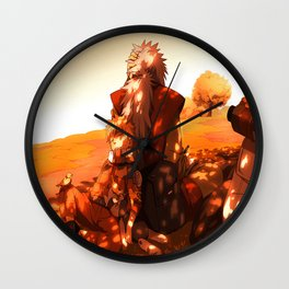 moments with the teacher Wall Clock
