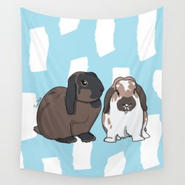 Oreo and Teddy Wall Tapestry
