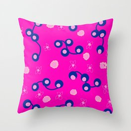 Laffy Daffy Throw Pillow