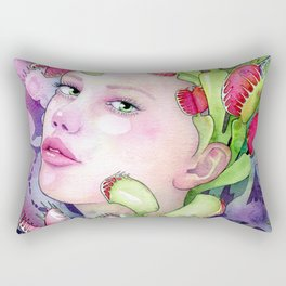 Under the Gaze of Venus Rectangular Pillow