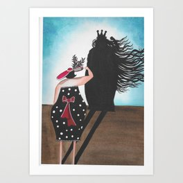 Superhero - Coola Qvinnor Art Print