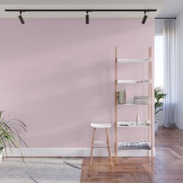 Shocking Pink Froth Wall Mural