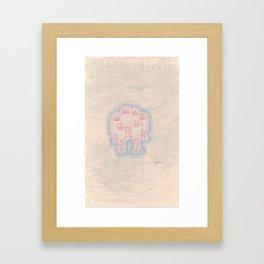 These Guys Framed Art Print