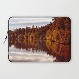 RADIANT AUTUMNAL REFLECTION Laptop Sleeve