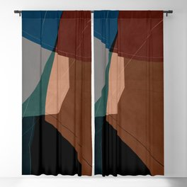 Abstract 2020 009 Blackout Curtain