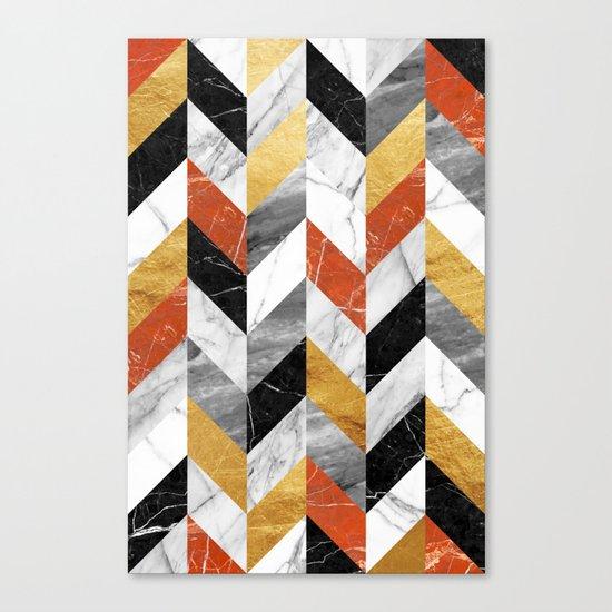 Marble pattern Canvas Print