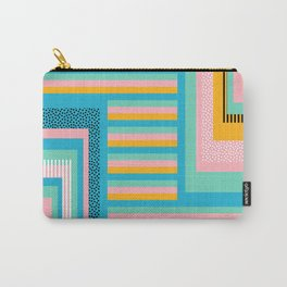 Beach abstraction Carry-All Pouch