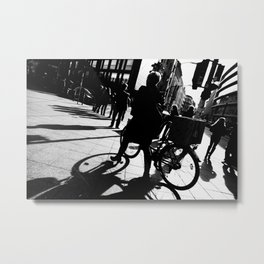 Berlin's streets in black and white 2 Metal Print