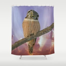 Lest ye be judged Shower Curtain
