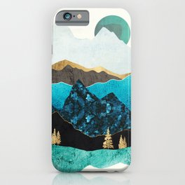 Teal Afternoon iPhone Case