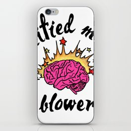 Certified Mind Blower iPhone Skin