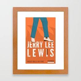 Jerry Lee Lewis Framed Art Print