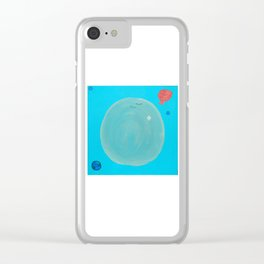 Thought Bubble Clear iPhone Case