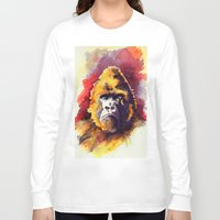 ape Long Sleeve T-shirts featuring APE by Chris Brothers
