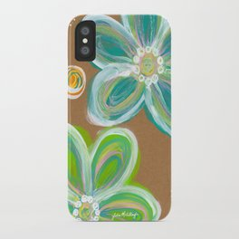 Funky Flowers iPhone Case
