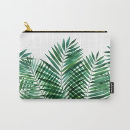 Cool Green Palms Carry-All Pouch