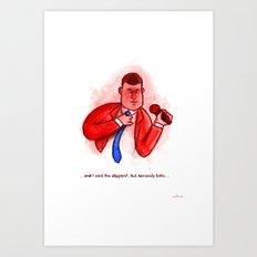 The Blake Show Art Print
