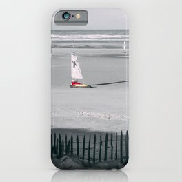 Sailing Land Yachting iPhone Case