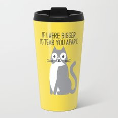 Purrfectly Honest Travel Mug