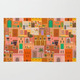 Marrakesh: The Red City Rug
