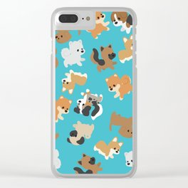 Dogs Galore Clear iPhone Case