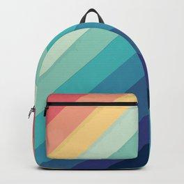 Retro Chevrons 002 Backpack